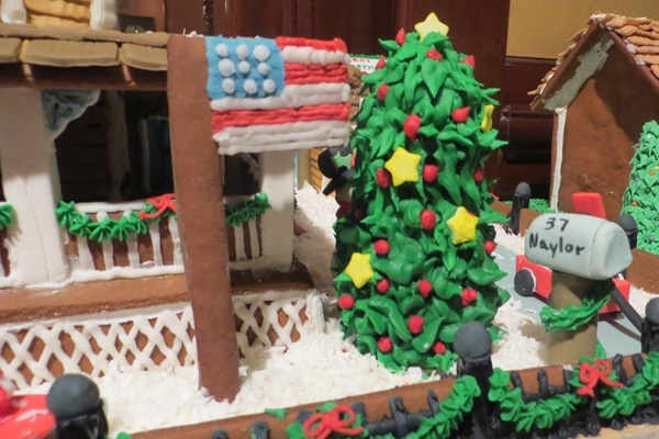 <p><p>All of the pieces in the displays are made from edible materials (Shana O'Malley/NewsWorks)</p></p>