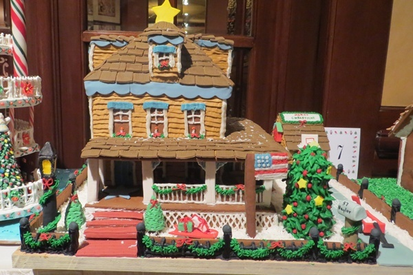 <p><p>Houses will be on display at the Hilton Wilmington/Christiana until Dec. 23 (Shana O'Malley/NewsWorks)</p></p>