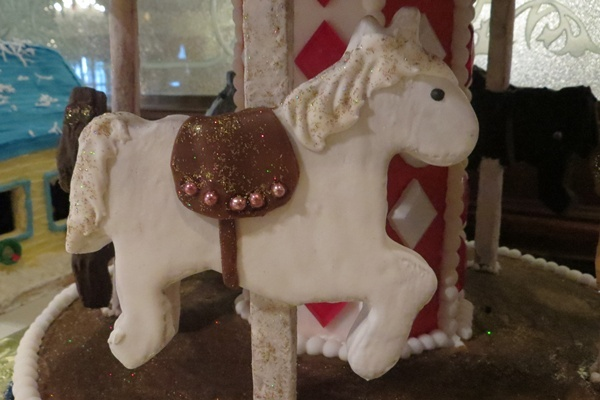 <p><p>Edible glitter adds a finishing touch to a carousel display (Shana O'Malley/NewsWorks)</p></p>
