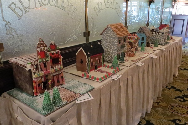 <p><p>More than a dozen gingerbread houses are on display (Shana O'Malley/NewsWorks)</p></p>