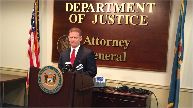 Delaware AG Matt Denn says more needs to be done to combat the state's opioid epidemic. (WHYY, file)