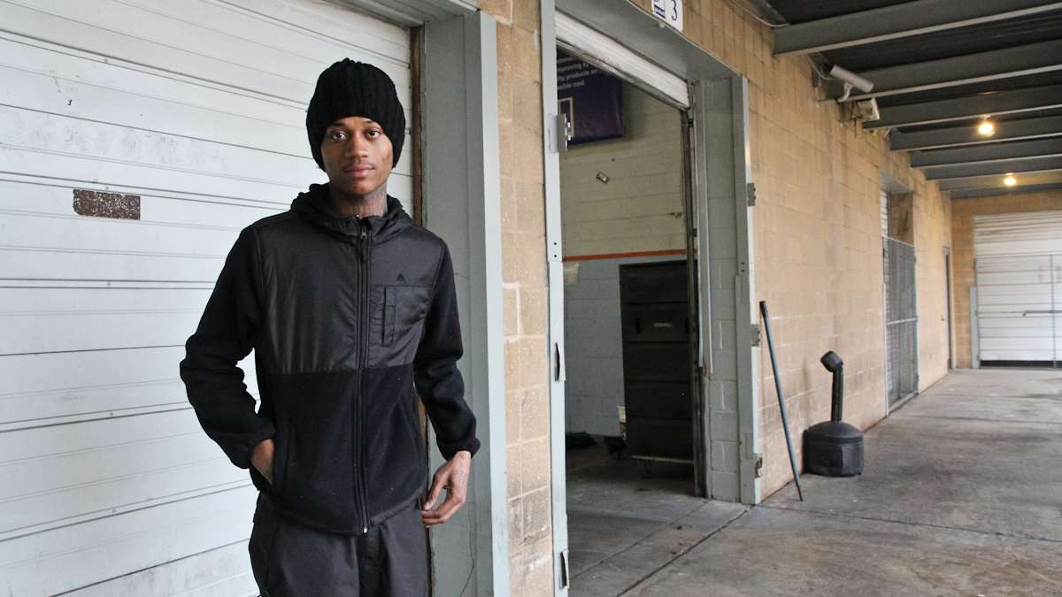 Jarren Taylor says these days he's trying to stay out of trouble. He says he likes his job at the Goodwill facility near 7th and Spring Garden streets.