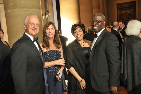 <p><p>Lisa and Christopher Butler (left), and Denise and Clarence Armbrister, President of<br />Girard College (Photo courtesy of Phil Stein Photography)</p></p>