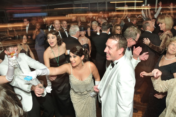 <p><p>Guests on the dance floor at Devereux's 100th anniversary gala (Photo courtesy of Phil Stein Photography)</p></p>