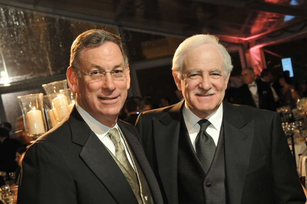 <p><p>Sam Katz of History Making Productions, and ABC6 anchor and gala emcee, Jim Gardner (Photo courtesy of Phil Stein Photography)</p></p>
