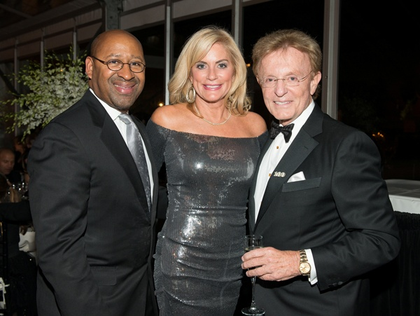 <p><p>Gala keynote speaker, Mayor Michael Nutter (left) with Gay Davidson, and Devereux<br />Pennsylvania advisory board member Buck Riley (Photo courtesy of Susan Beard Designs)</p></p>