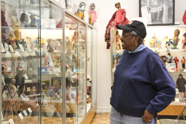 <p><p>Barbara Whiteman is the executive director of the Philadelphia Doll Museum on the 2200 block of N. Broad Street in Philadelphia. (Kimberly Paynter/for NewsWorks)</p></p>