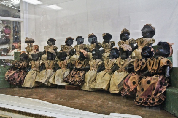 "<p><p>Little is known about these dolls except that they are over 100 years old and probably French or German in origin. Whiteman calls them ""the choir."" (Kimberly Paynter/for NewsWorks)</p></p>"