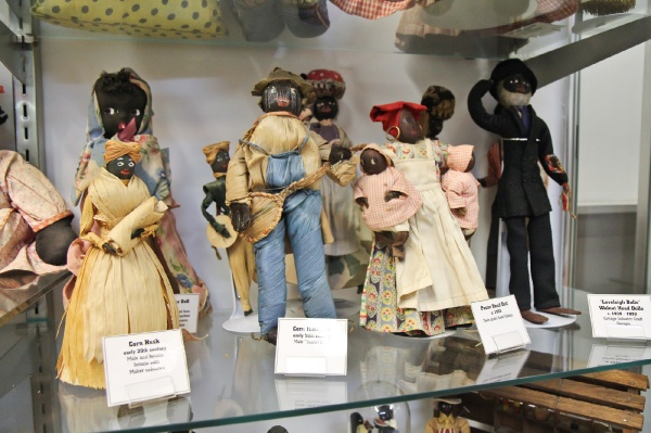 <p><p>These American folk dolls date from the 1920s and are made from everyday materials. (Kimberly Paynter/for NewsWorks)</p></p>
