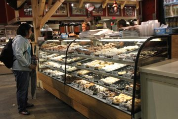 Beiler's Bakery in Philadelphia's Reading Terminal Market recently expanded to include a donut shop. (Kimberly Paynter/WHYY)