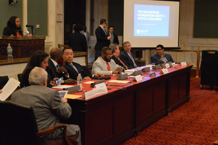 Special Committee on Criminal Justice Reform meets in Philadelphia (Tom MacDonald/WHYY)