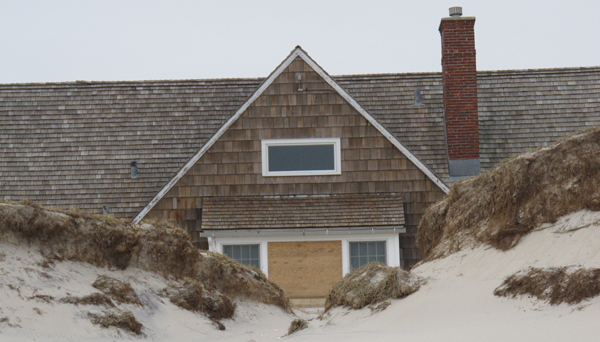Photographed here is an exterior view the governor's beach house at New Jersey's Island Beach State Park, in Island Beach State Park, N.J. The house came through Superstorm Sandy with minimal damage due to a robust dune system guarding it. (Wayne Parry/AP Photo, file)