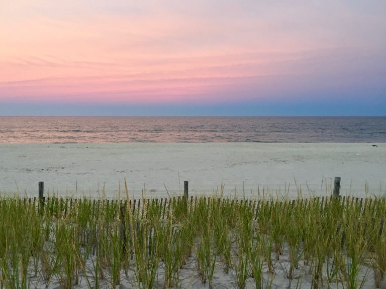 Pastel skies at the Jersey Shore. (Photo: Justin Auciello/for NewsWorks)