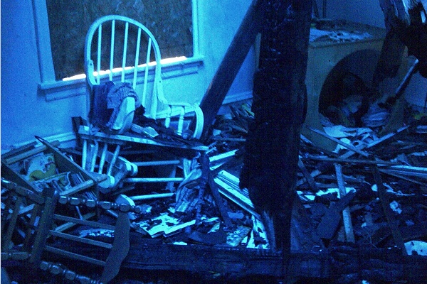 <p><p>What a 14-month-old girl's room looks like after a massive blaze. (Brian Hickey/WHYY)</p></p>