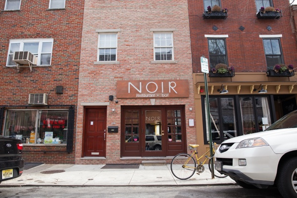 Noir restaurant and bar opened last June at 1909 E. Passyunk Ave., a location that has changed hands a number of times in the last few years. (Lindsay Lazarski/WHYY)