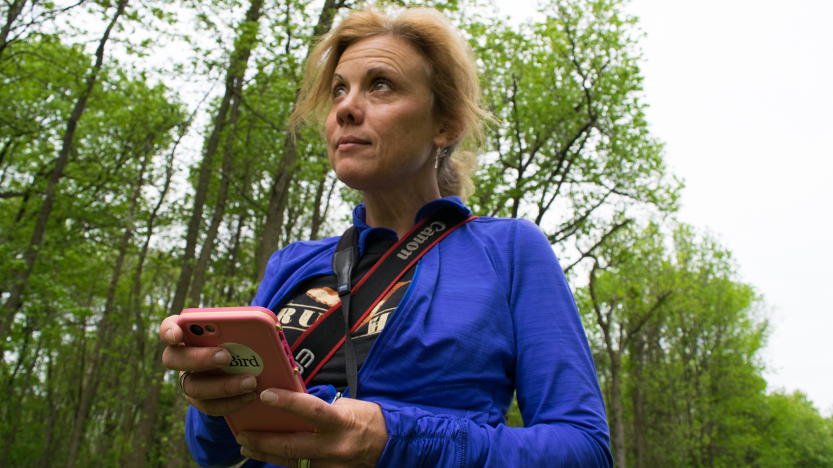 With the click of a button, birders become citizen scientists - WHYY