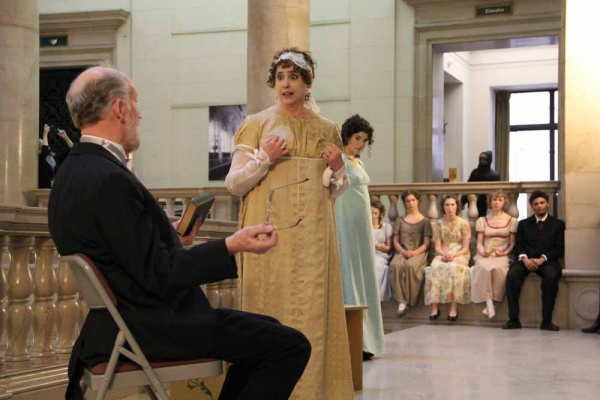 <p>&lt;p&gt;Mr. and Mrs. Bennet (Nick Lutwyche and Jane Jennings) argue over their daughter's refusal of a marriage proposal. (Emma Lee/for NewsWorks)&lt;/p&gt;</p>