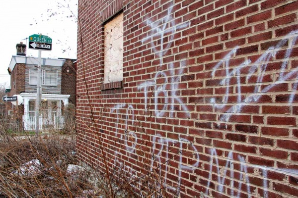 <p>&lt;p&gt;A vacant home on Queen Lane at West Clarkson Avenue is marked by the TBK (Terrace Born Killers), one of several neighborhood-based gangs that claim turf in the neighborhoods around Germantown and King. (Emma Lee/for NewsWorks)&lt;/p&gt;</p>