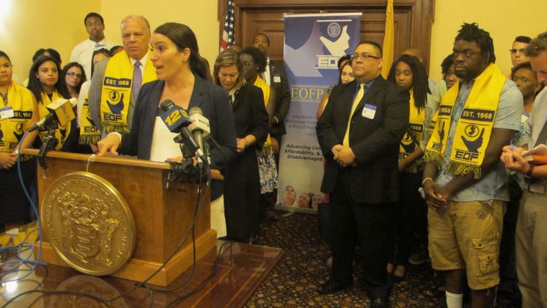 Lawmakers and advocates say increasing funding for the program will help low income students get the services they need to complete their college education. (Phil Gregory/WHYY)