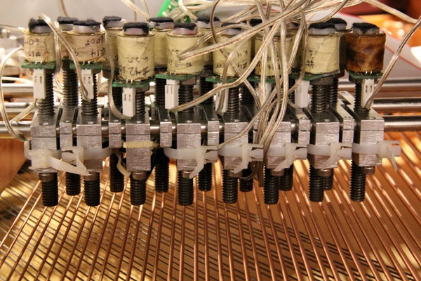 <p><p>Electromagnets, rather than hammers, vibrate the strings on the magnetic resonator piano at Drexel's ExCITe Center. (Emma Lee/for NewsWorks)</p></p>