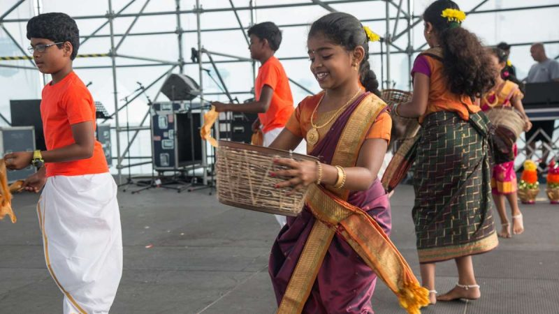 The Festival of India at Penn's Landing celebrates India's 70th anniversary of independence from British rule Saturday, Aug. 12, 2017. The festival is part of PECO's multicultural summer series which includes celebrations from different cultures. (Emily Cohen for NewsWorks)