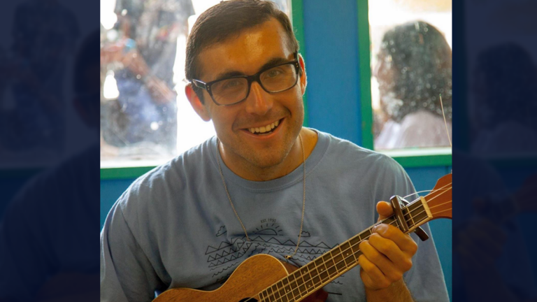 Ari Sussman, former head of music and performing arts at Camp Ramah, a Jewish summer camp in the Poconos where he composed the music to Oseh Shalom. (Photo courtesy of Ari Sussman)
