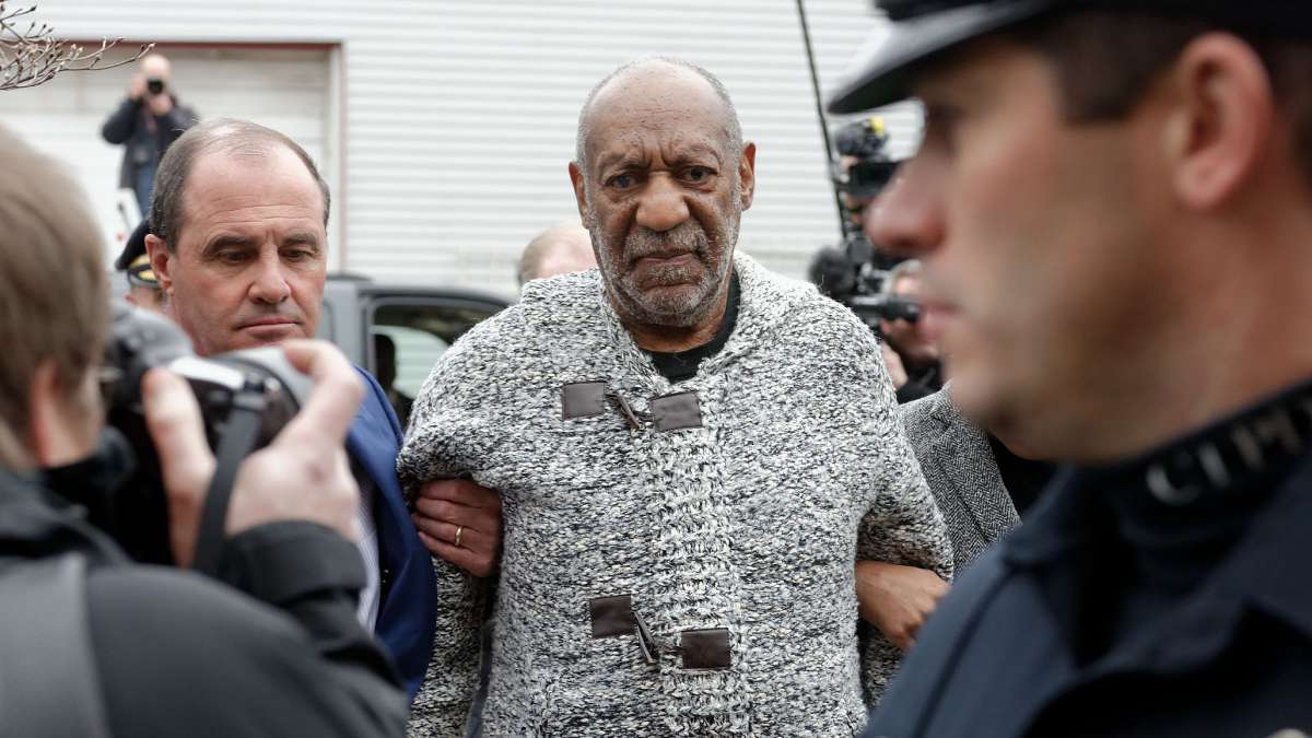 Bill Cosby arrives at Montgomery County Courthouse in December, 2015, where he was arraigned on three counts of aggravated indecent assault. (Bastiaan Slabbers for NewsWorks)
