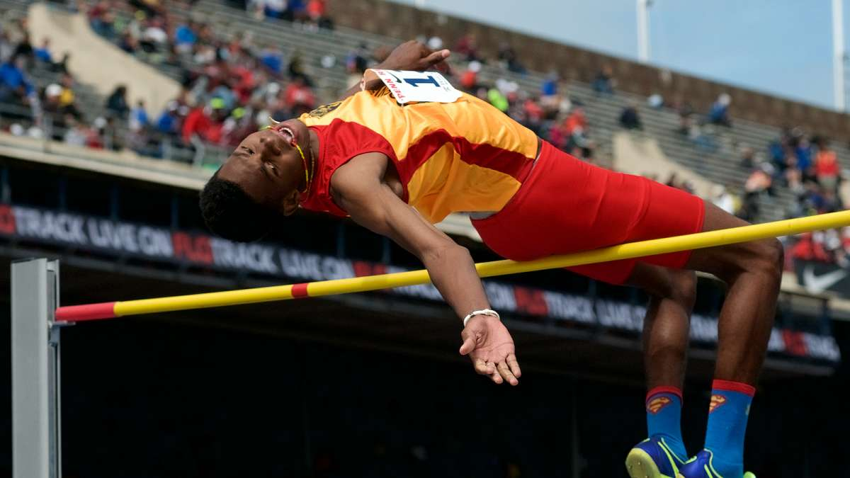 Besides the track championships athletes also compete in high jump, long jump, pole vault and hurdles during the weekend.