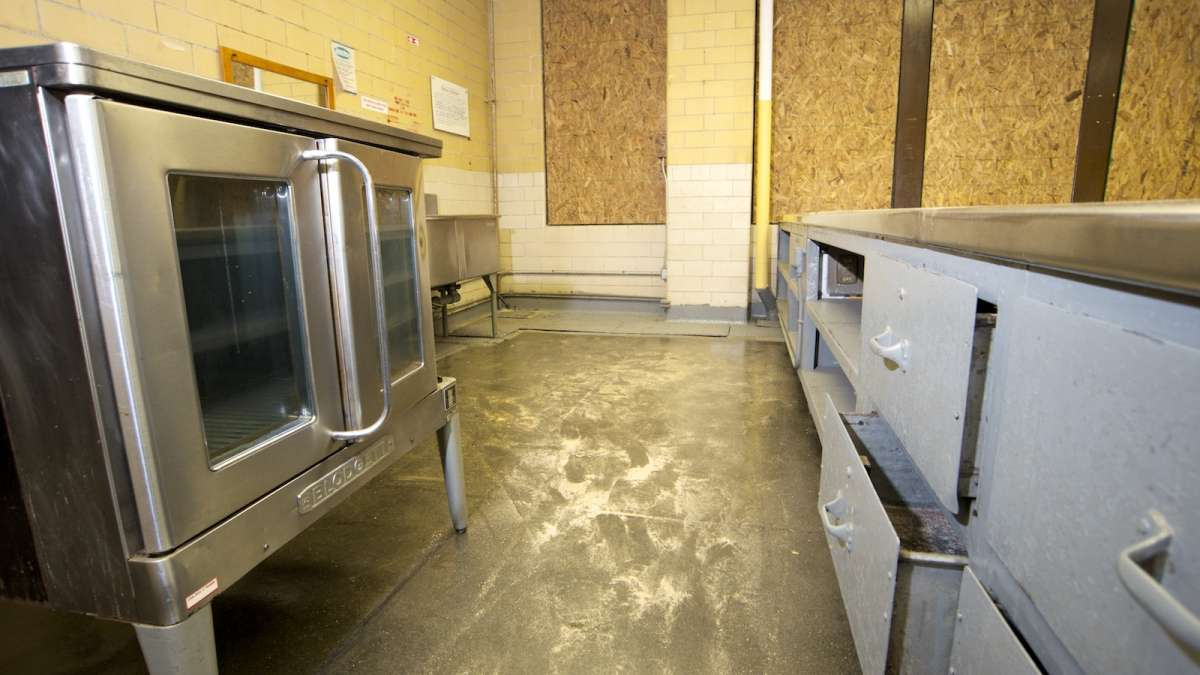 This used to be the cafeteria area at Fulton Elementary. (Bas Slabbers/for NewsWorks)