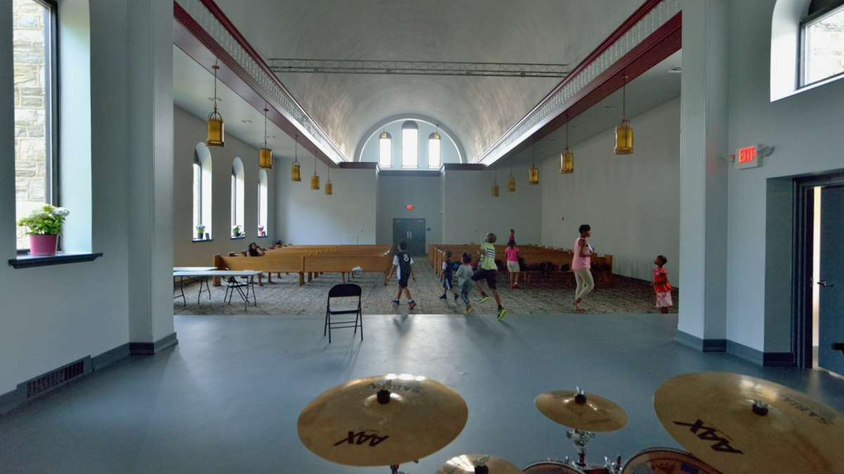 A look inside the former church that the 'Greatness is in You!' program now calls home. (Bas Slabbers/for NewsWorks)