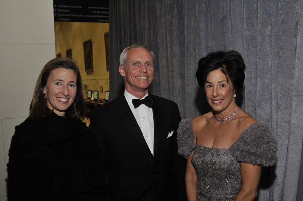 <p><p>Christie's managing director Mid-Atlantic region Alexis McCarthy (left), Paul Provost, deputy chairman, Christie's, and event cochair Claudia Balderston (Photo courtesy of Kelly & Massa Photography)</p></p>