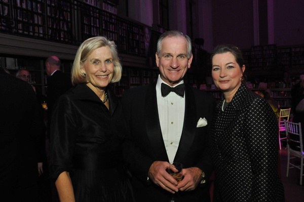 <p><p>President and director of the Free Library, Siobhan Reardon (right) with Patricia and John Imbesi, Foundation board member (Photo courtesy of Kelly & Massa Photography)</p></p>