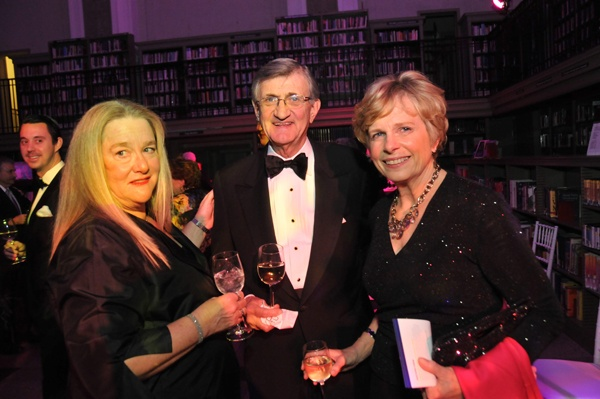 <p><p>Foundation board member and event cochair, Susan Smith (left), Foundation board member Tom Morris, and Ann Morris (Photo courtesy of Kelly & Massa Photography)</p></p>