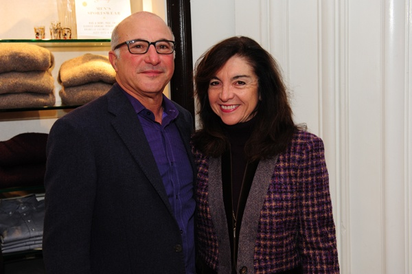 <p><p>Jerry and Donna Slipakoff, members of the Friends of Rittenhouse Square (Photo courtesy of Nick D'Aquanno)</p></p>