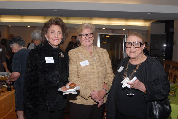 """<p><p>Marciarose Shestack (left) with Sandy Horrocks, vice president of external affairs at the Free Library of Philadelphia Foundation, and Judith Hyman (Photo courtesy of Steve Martin)<span style=""""font-size: 10pt; font-family: Times;""""><br /></span></p></p>"""