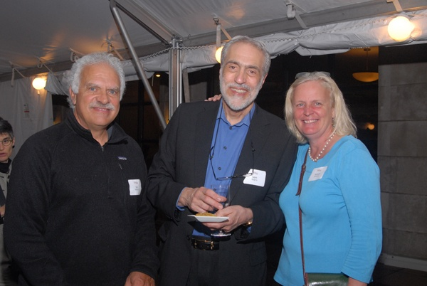 <p><p>Vincent Maiello of Kelly/Maiello Architects & Planners (left) with Sam Gugino, and Tamera Conaway (Photo courtesy of Steve Martin)</p></p>