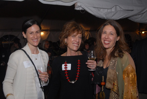 <p><p>Pepper Council member Alyse Bodine (left) with Shelly Wolf, and Melissa Greenberg vice president of development at the Free Library of Philadelphia Foundation (Photo courtesy of Steve Martin)</p></p>