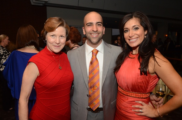 <p><p>Kimmel Center President and CEO Anne Ewers (left), Matthew Pantaleno, and Alicia Vitarelli (Photo courtesy of HughE Dillon)</p></p>