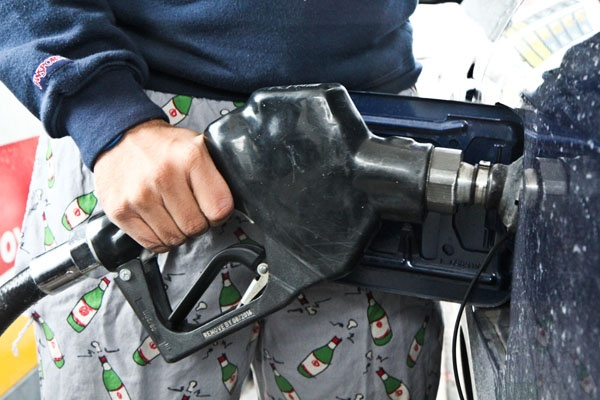 <p>In his budget adress yesterday, Governer Corbett proposed raising the oil company franchise tax which is imposed on all liquid fuels. (Kimberly Paynter/WHYY)</p>