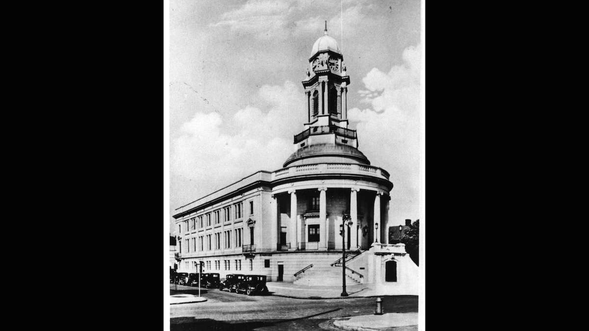 The new Town Hall in Germantown at 5928 Germantown Avenue, 1925. (Courtesy of Germantown Historical Society, Philadelphia, PA)