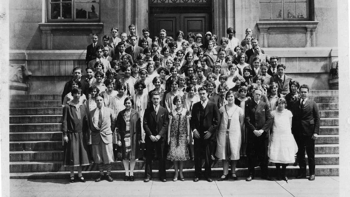 Members of the June 1926 class of Germantown High School. (Courtesy of Germantown Historical Society, Philadelphia, PA)