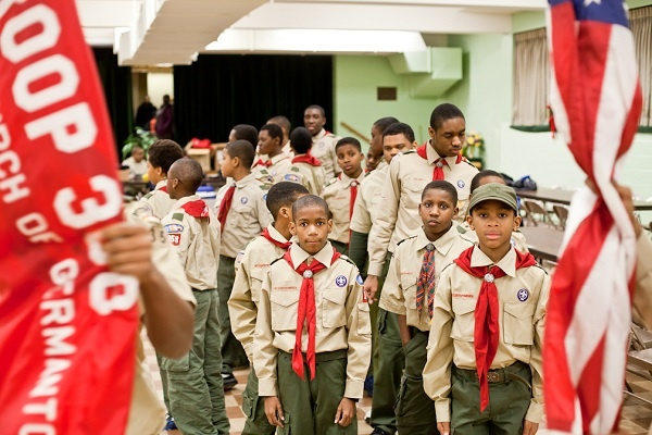 <p><p>Boy Scout Troop 358 will march in President Obama's Inaugural Parade for the second time while also celebrating its 60th anniversary this year. The troop has more than 60 Eagle Scouts in its ranks. (Brad Larrison/for NewsWorks)</p></p>