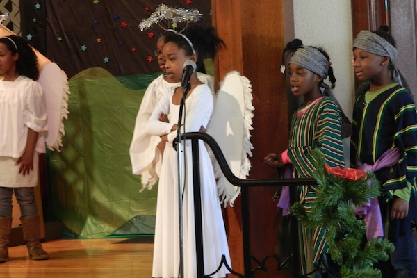 <p>&lt;p&gt;The church's Sunday School students performed &quot;Carriers of the Light&quot; for attendees. (Kiera Smalls/for NewsWorks)&lt;/p&gt;</p>