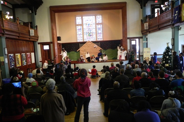 <p>&lt;p&gt;First Presbyterian's Christmas Eve services will end at midnight so everyone can be home in time to set cookies and milk out for Santa. (Kiera Smalls/for NewsWorks)&lt;/p&gt;</p>