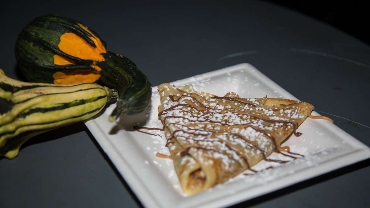 A crepe from Bonjour Crepery in Bucks County.