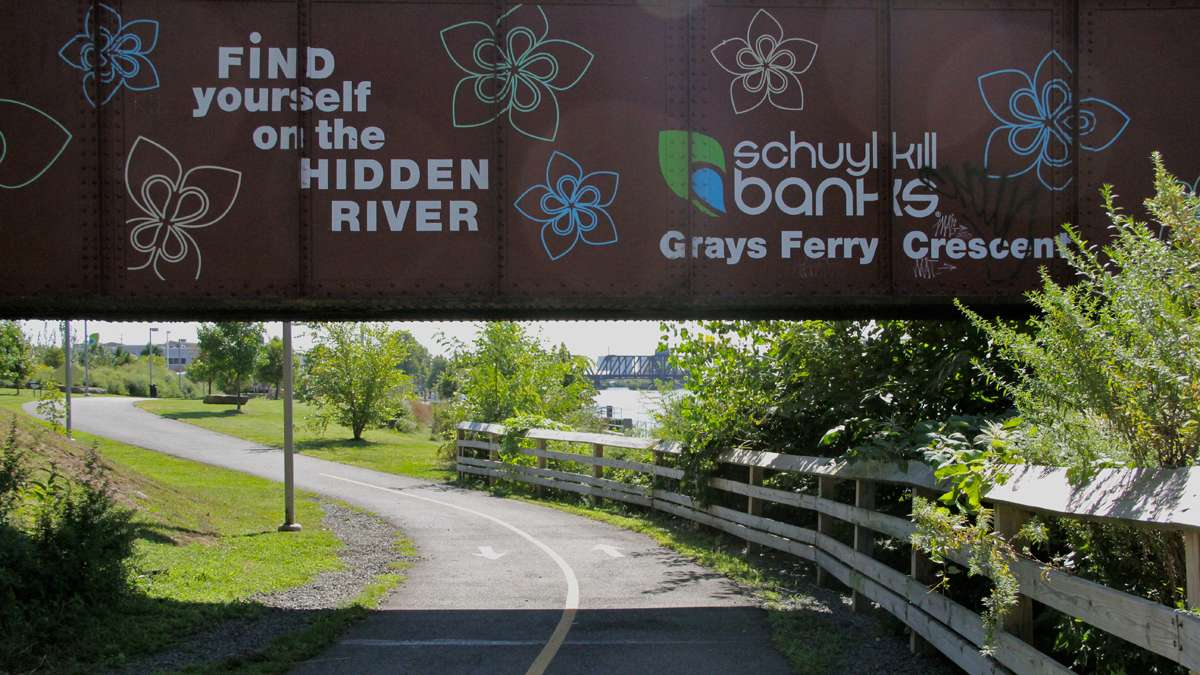 A coalition of Philadelphia civic groups wants to draw attention to the hidden treasures at Grays Ferry Crescent Trail Park with a weekend festival. (Emma Lee/for NewsWorks)
