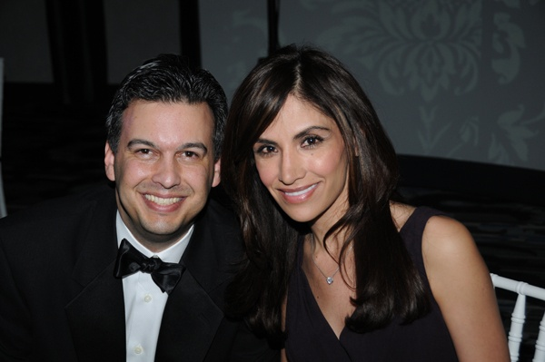 <p><p>Paul Lima, board chair of Greater Philadelphia Hispanic Chamber of Commerce, and gala emcee Claudia Rivero of NBC 10 (Photo courtesy of George Feder)</p></p>
