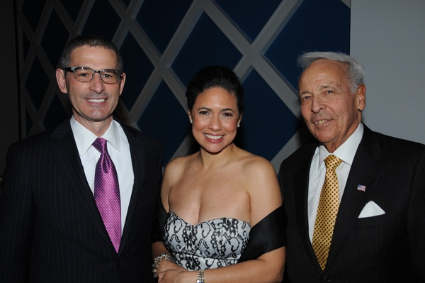<p><p>Robert J. Ciaruffoli of gala sponsor ParenteBeard (left), Varsovia Fernandez, President and CEO of GPHCC, and Charles G. Kopp, chair of the Philadelphia Regional Port Authority, a gala sponsor (Photo courtesy of George Feder)</p></p>