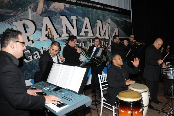 <p><p>Anthony Colon's band performing at the Greater Philadelphia Hispanic Chamber of Commerce's sixth annual Alegria Ball: Panama Gateway to the World, held Jan. 18 at Vie on North Broad Street (Photo courtesy of George Feder)</p></p>