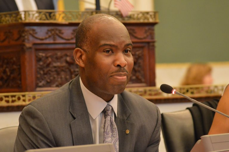 Councilman Derek S. Green  is lobbying the state to make sure Philadelphia receives a